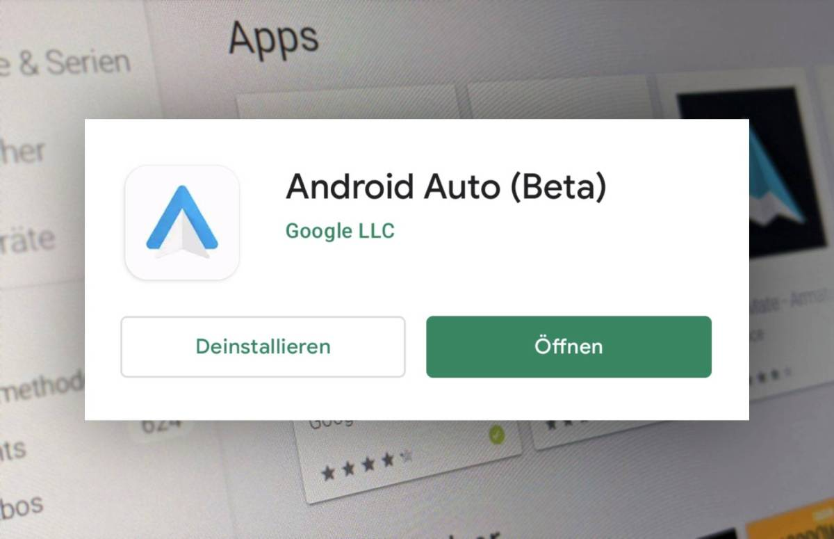Android Auto Play Store Neuer Name Head