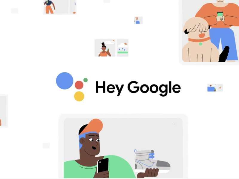 Hey Google Head