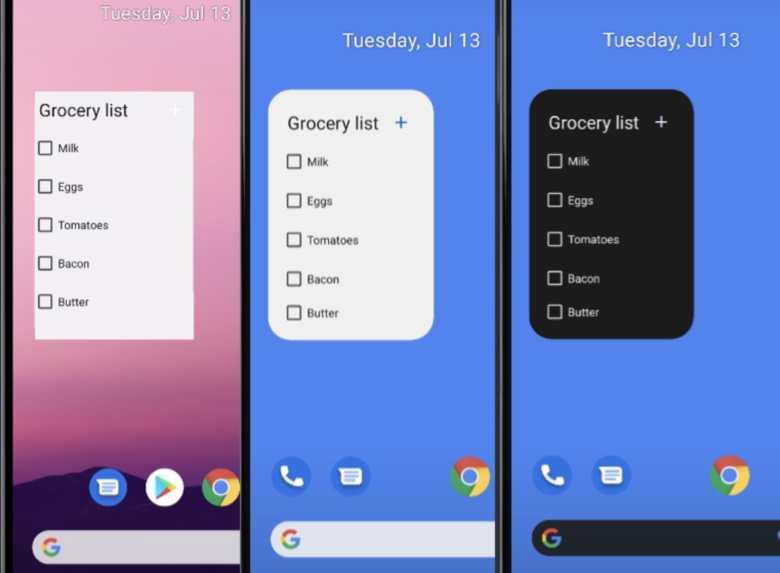 Widgets Andrid 11 Und Android 12 Vergleich