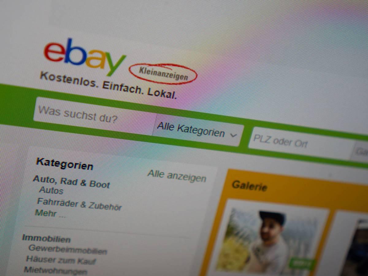 Ebay Kleinanzeigen Webseite Foto