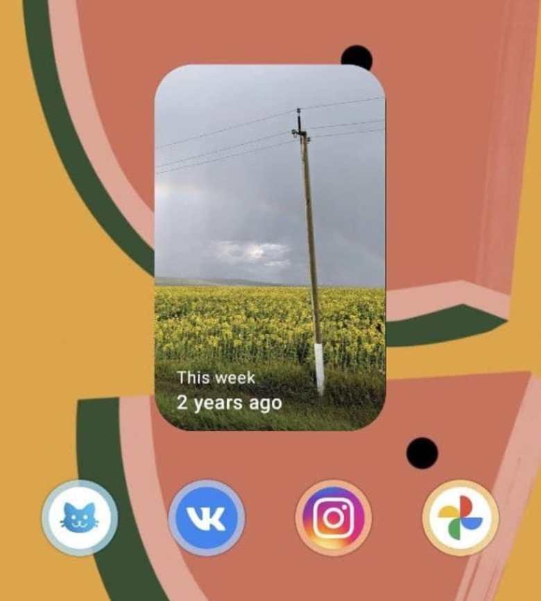 Google Fotos Widget Erinnerungen