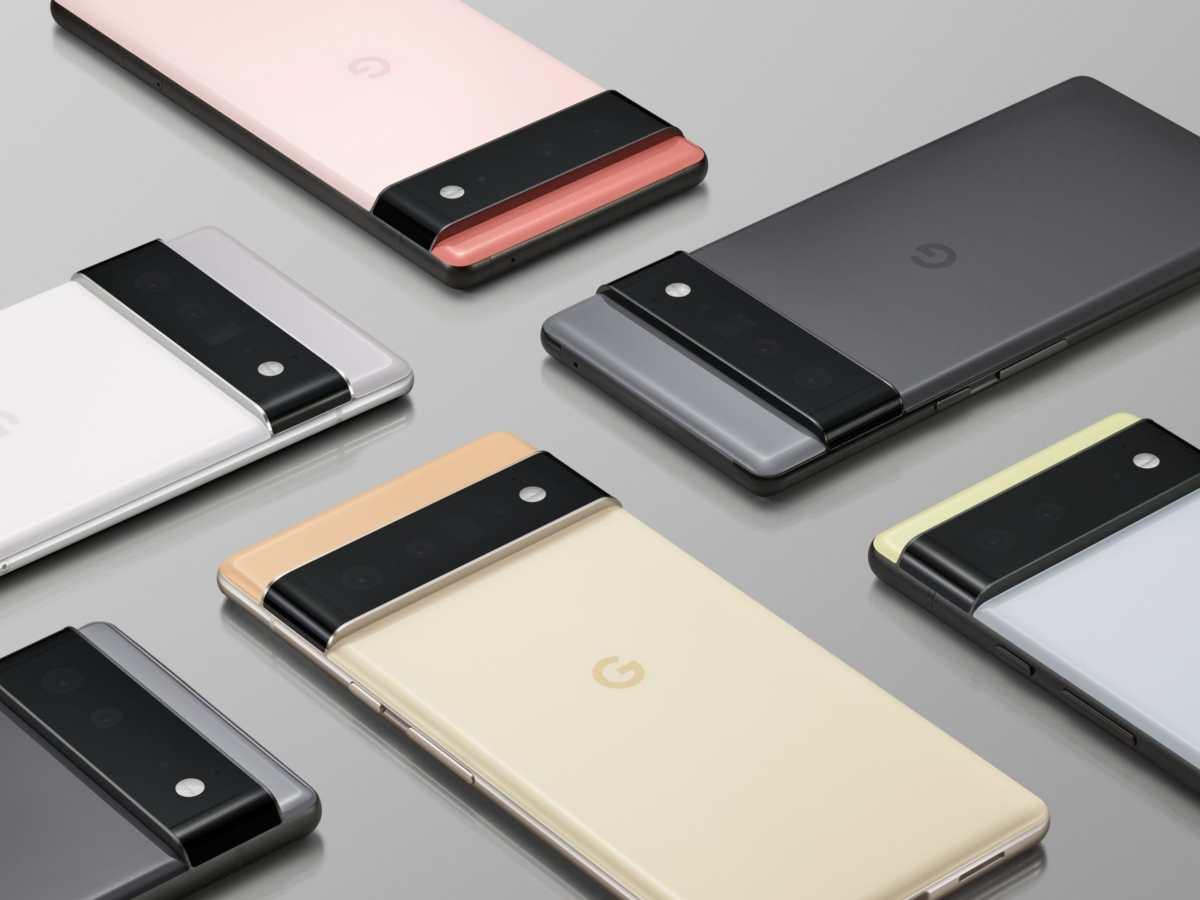 Google Pixel 6 Farben