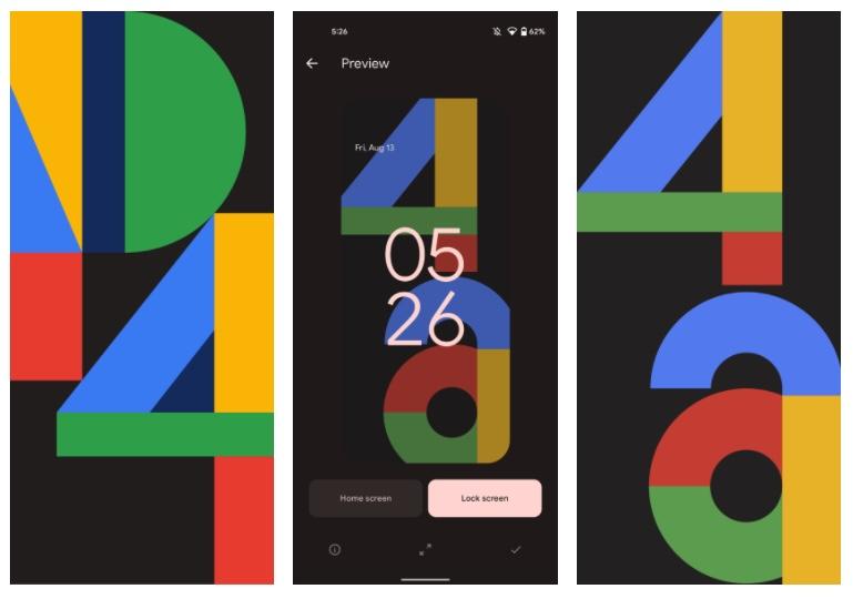 Pixel 4a Und 4 Wallpaper Screenshot