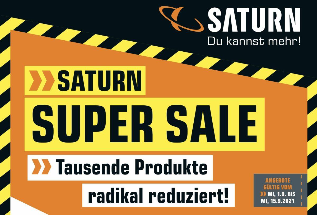 Saturn Super Sale September 2021