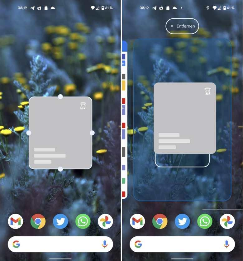 Widget Resizer Android 12 Beta 4