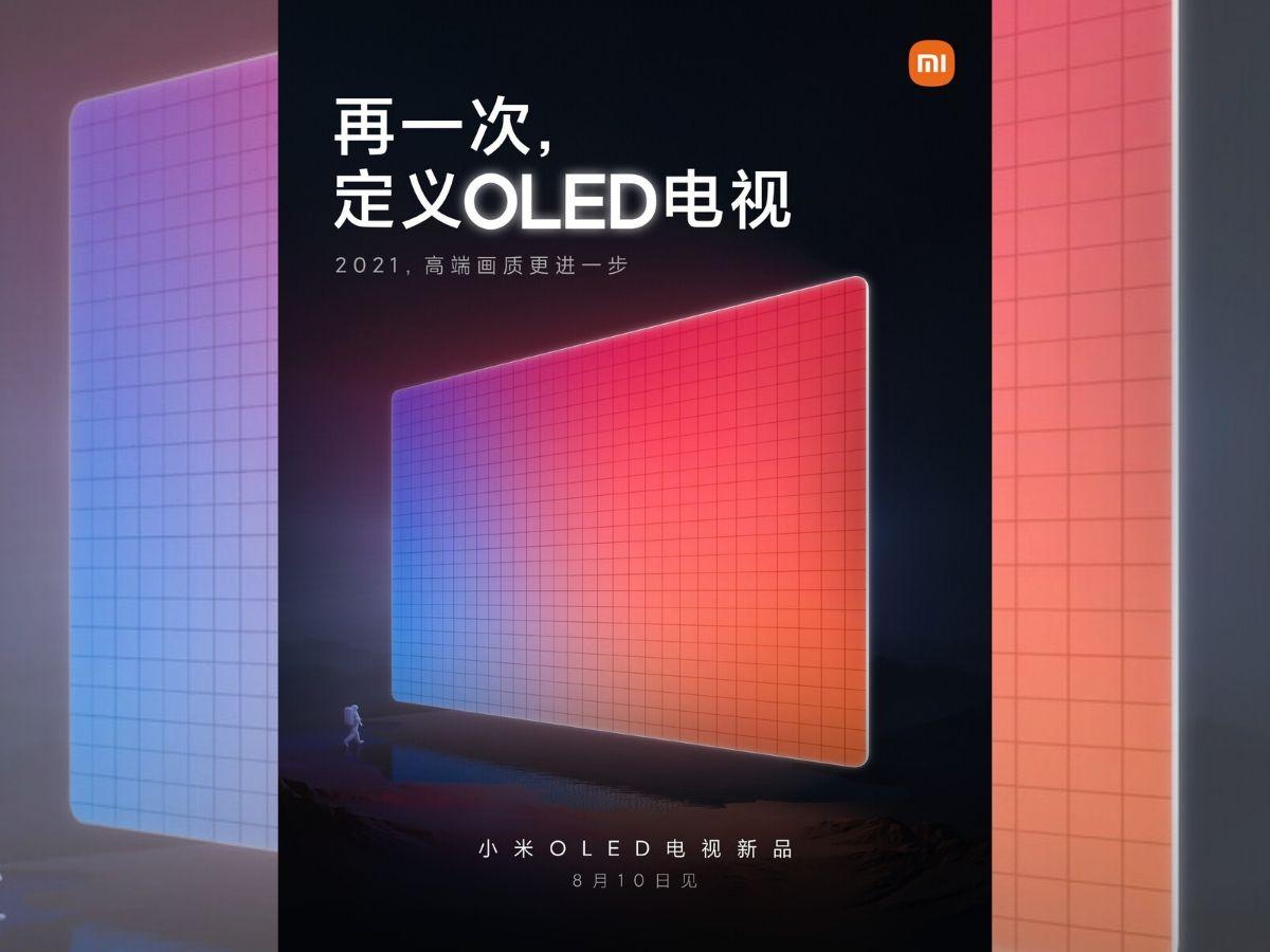 Xiaomi Mi Tv Oled 2 Gen August 2021