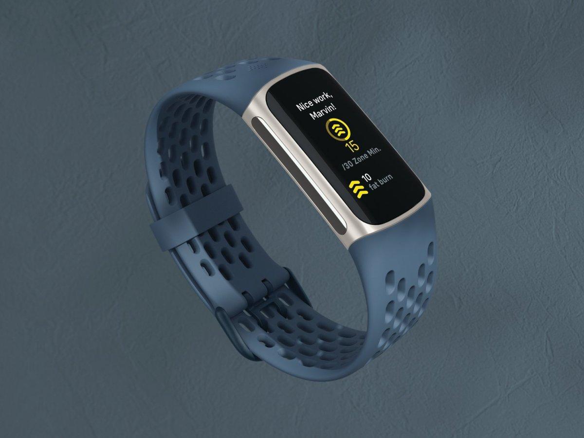 Fitbit Charge 5 Still Deep Sea Sport
