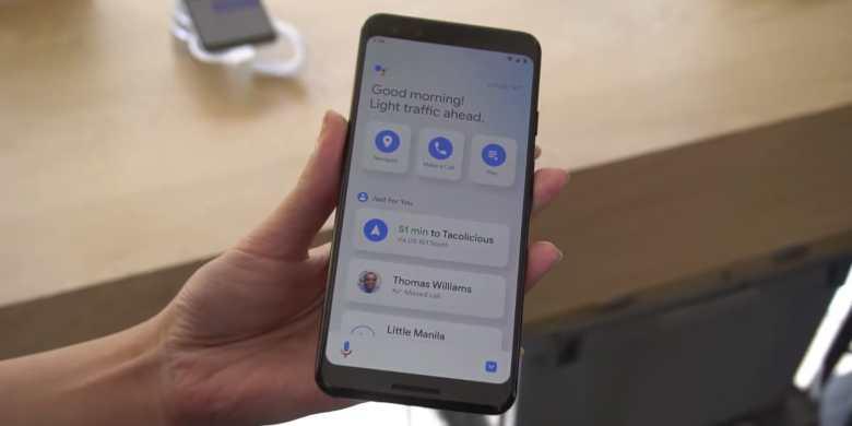 Modo de conducción del Asistente de Google1
