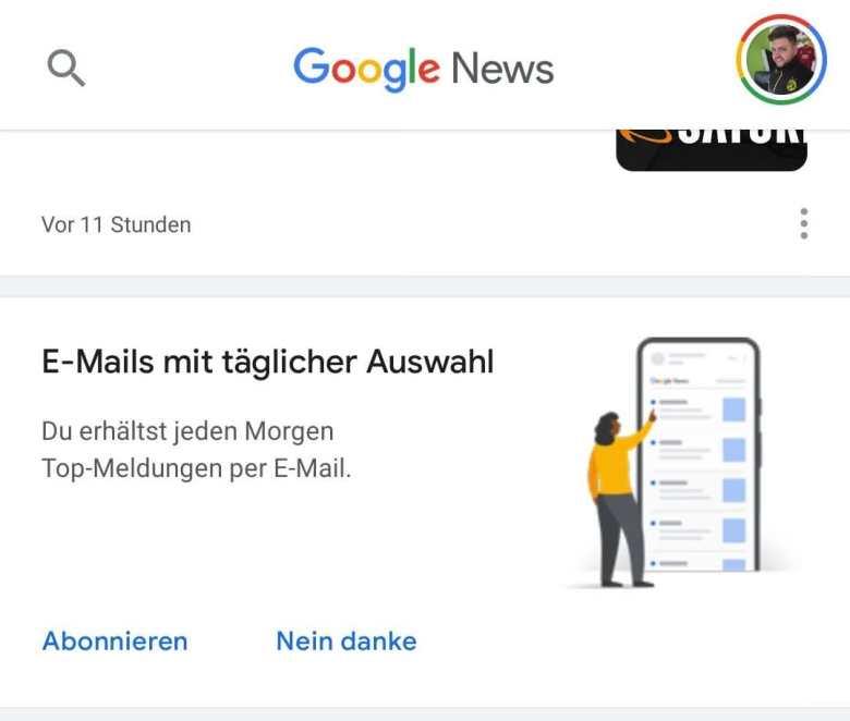 Google News E Mail Top Meldungen