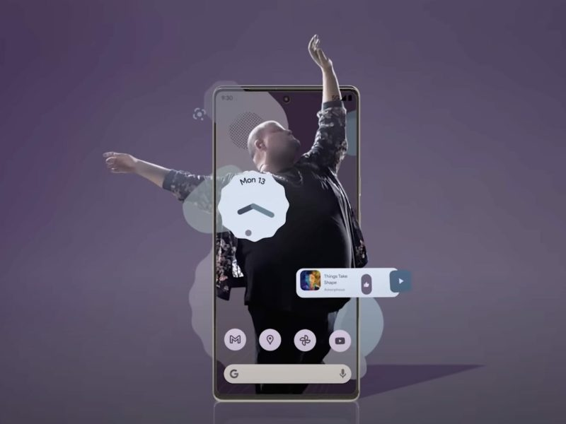 Google Pixel 6 Android 12 Teaser