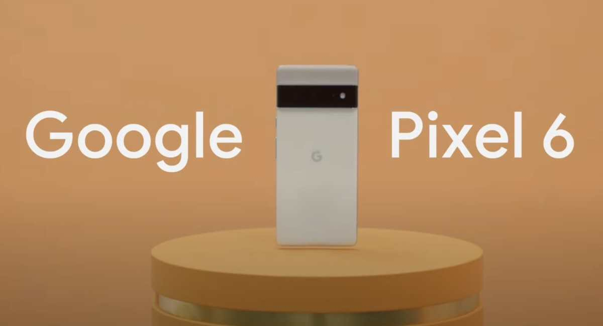 Google Pixel 6 Head