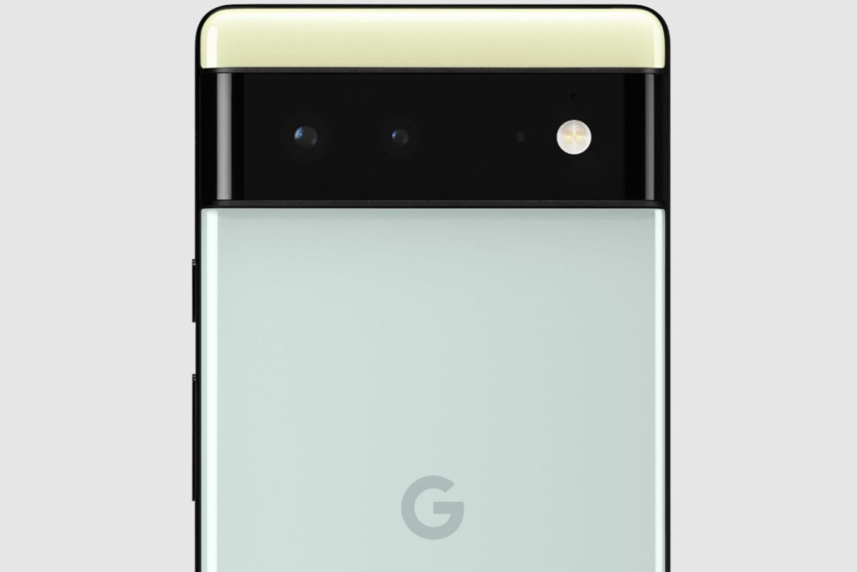 Google Pixel 6 Rueckseite Mint