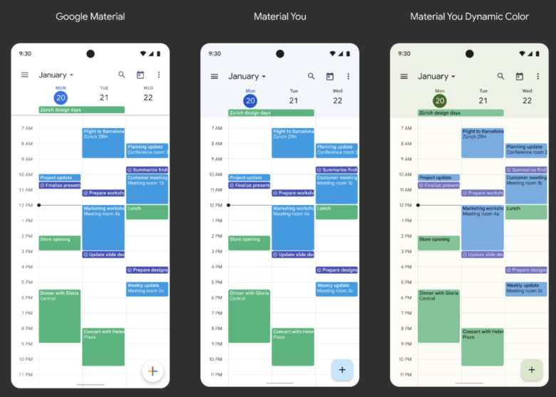 Google Workspace Apps Material You1