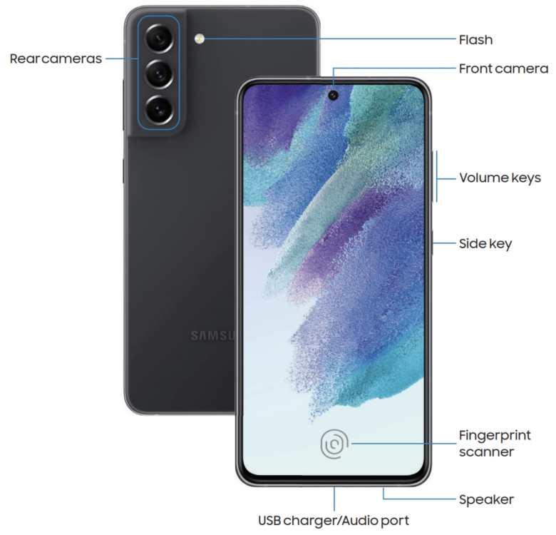 Samsung Galaxy S21 Fe Details