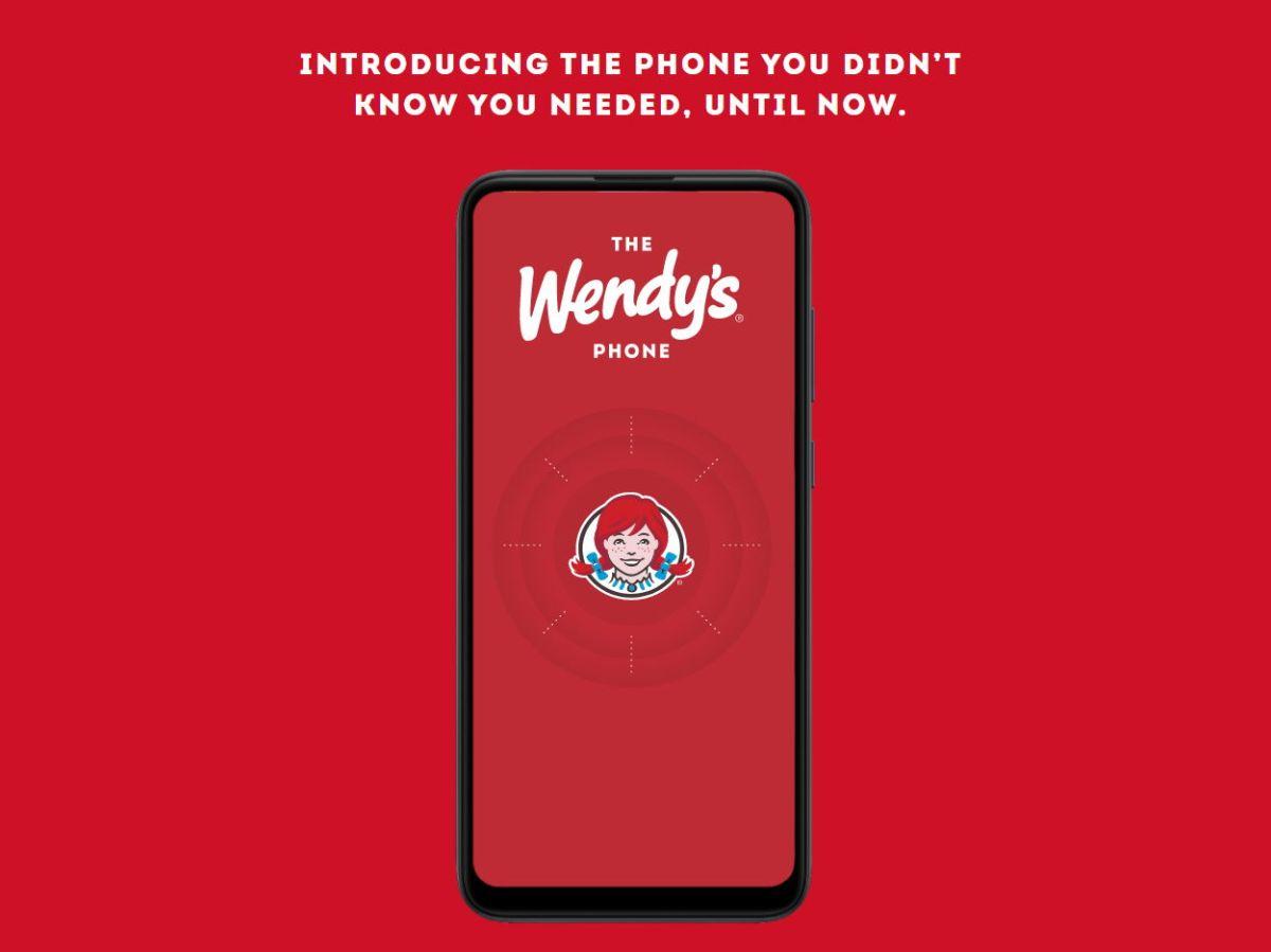 The Wendys Smartphone Header