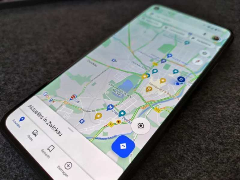Google Maps App Head