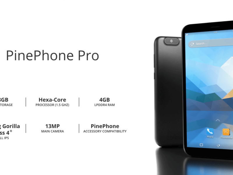 Pinephone Pro Specs