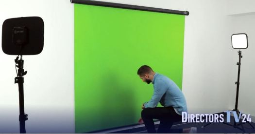 Green screen Directors TV 24 Smartdy