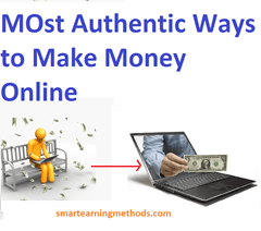 authentic ways to make money