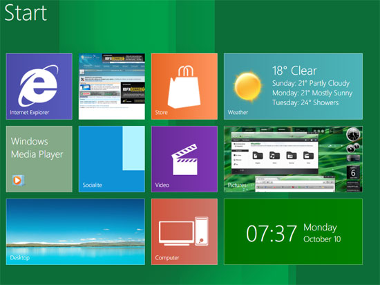 Metro Desktop For Windows 7