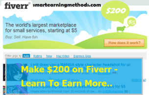 Increase earnings at fiverr