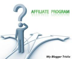 Choosing Affiliate Program