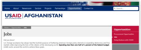 USAID Afghanistan