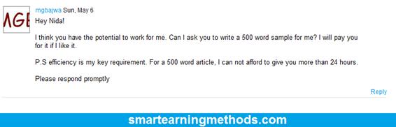 got a client on freelancer