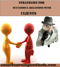 stretegies for successful relations with clients