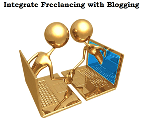 integrate freelancing with blogging