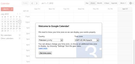 welcome to google calendar