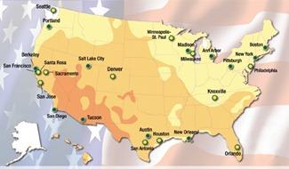 15 BEST PERFORMING CITIES OF AMERICA