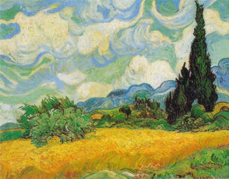 A-Wheatfield-with-Cypresses