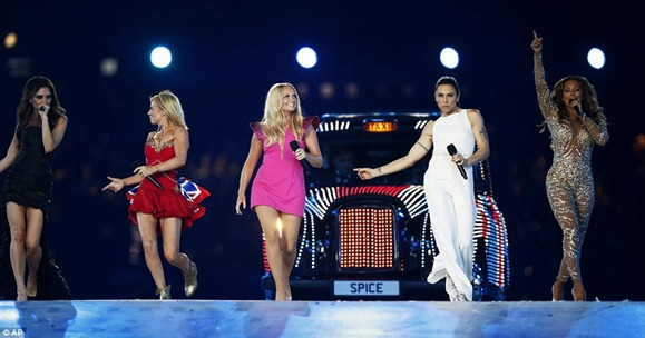 spice girls at olympics