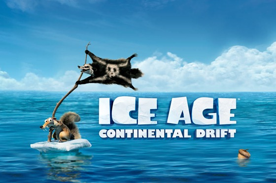 Ice Age 4 COntiental Drift
