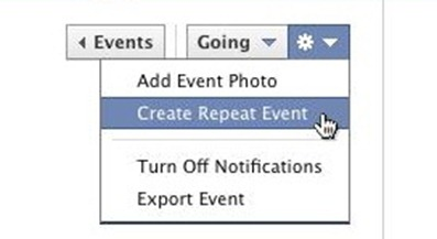 create repeat event