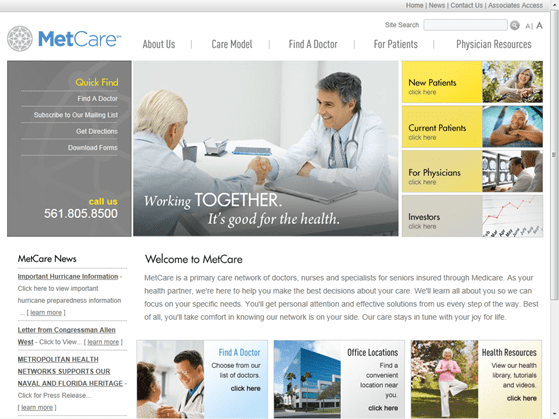 Metropolitan Health Networks