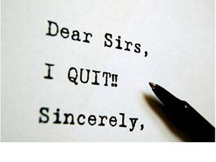 why quit job 2013
