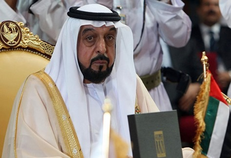 President Sheikh Khalifa bin Zayed of UAE