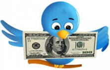 twitter and money