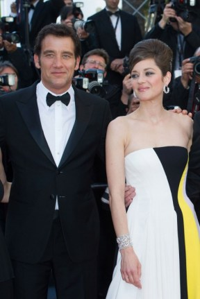 Clive Owen and Marion Cotillard