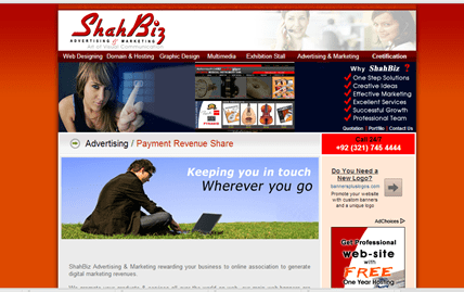Shahbiz online advertising pakistan