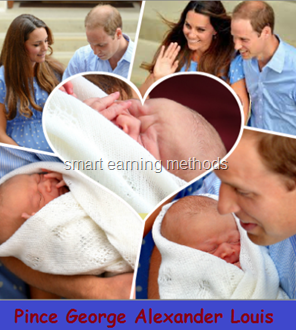 Memorable Photos of Royal Baby Prince George