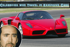 Popular Celebrities Who Love Travelling in Expensive Cars