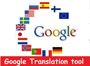how to translate characters with google