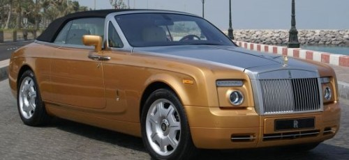 Rolls Royce Phantom Drophead Abu Dhabi