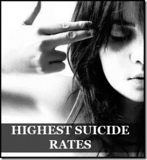 Top 10 Countries with Highest Suicide Rates