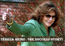 What Made Teresa Heinz a Popular Business Woman?