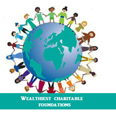 Wealthiest charitable foundations