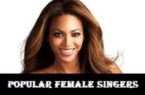 popular female singers